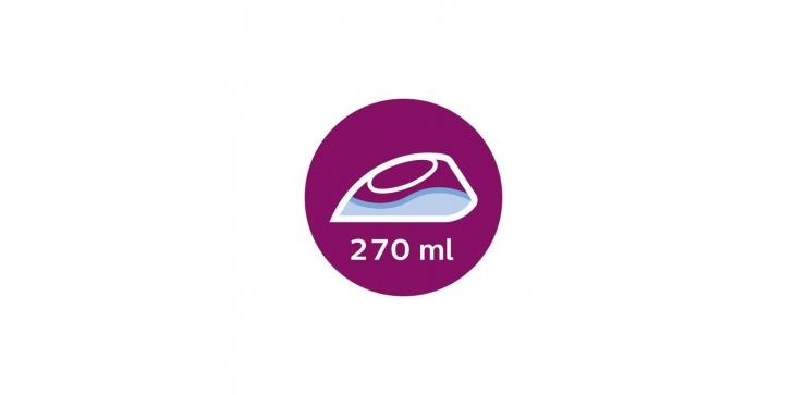 Fialová výkonná žehlička Philips EasySpeed Plus GC2148/30