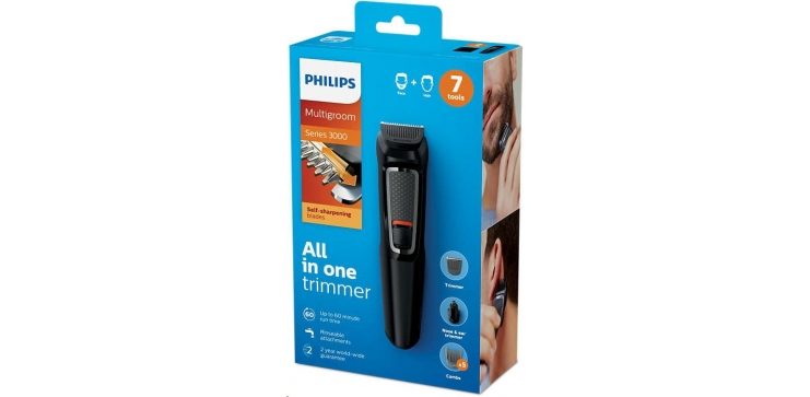 Zastřihovač Philips Multigroom series 3000 MG3720/15